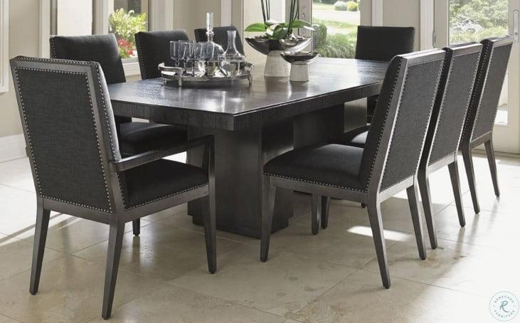 Carrera Modena Rectangular Extendable Double Pedestal Dining Room Set From Lexington 911 876c Coleman Furniture