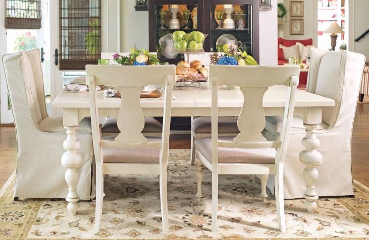 Paula Deen Home Linen Rectangular Extendable Dining Room Set