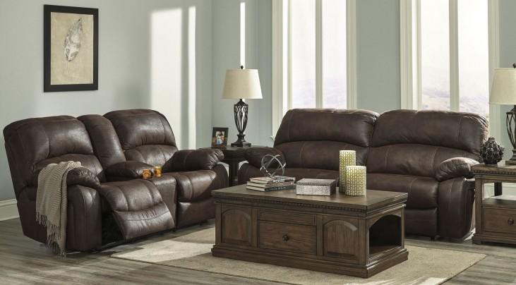 Zavier Truffle 2 Seat Reclining Living Room Set
