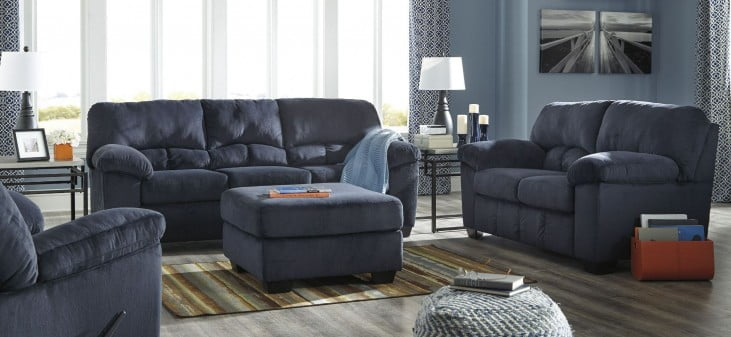 Dailey Midnight Living Room Set From Ashley 9540238
