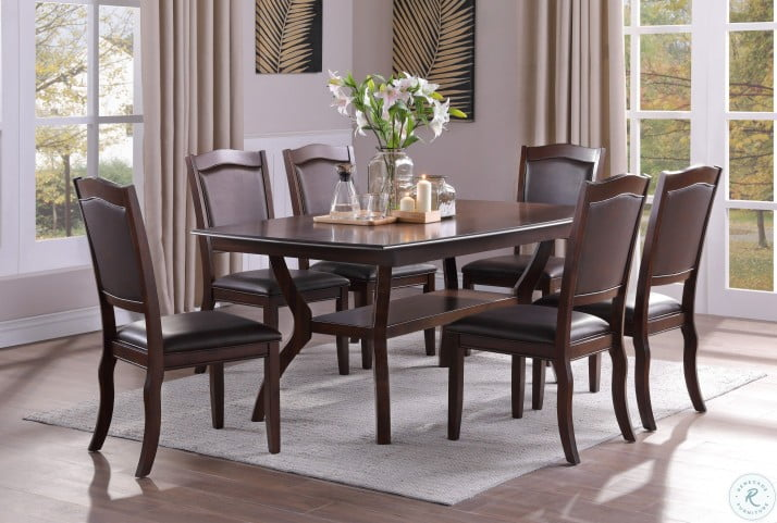 Whitby Dark Cherry Dining Room Set