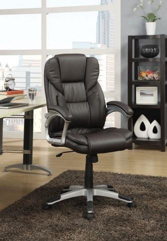 800045 Dark Brown Office Chair
