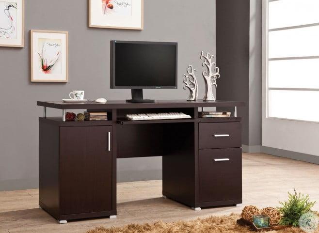 Tracy Cappuccino Computer Desk