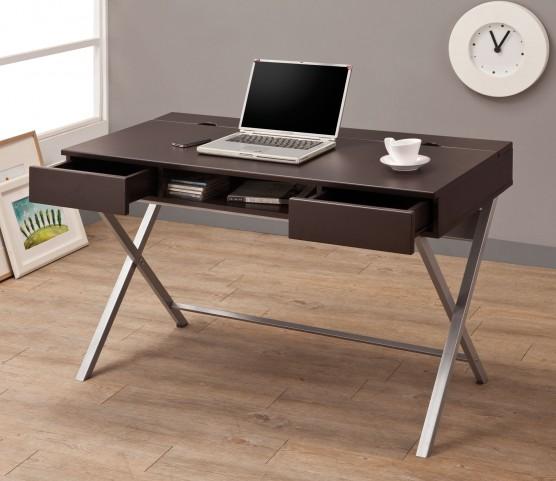 800117 Cappuccino Connect-It Desk