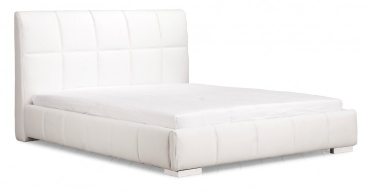 Amelie Queen Size Bed White