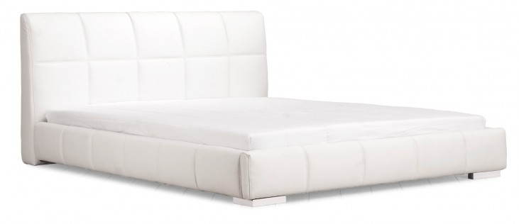 Amelie King Size Bed White