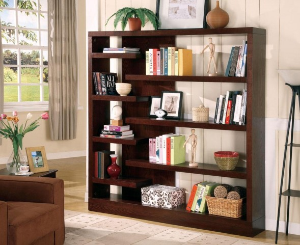Cappuccino Bookcase 800288