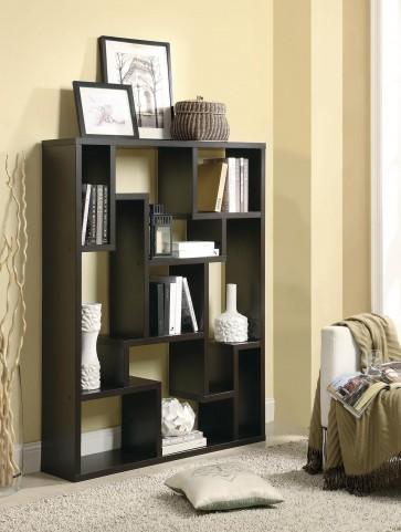 800316 Cappuccino Bookcase