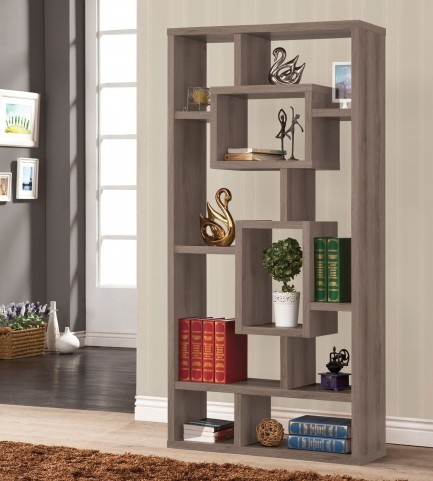800512 Cappuccino Bookshelf