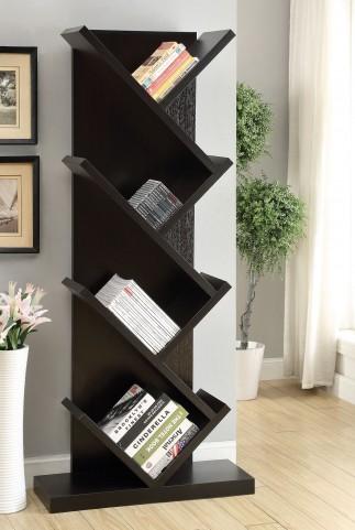 800540 Cappuccino Bookcase