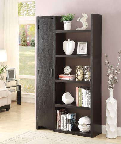 800626 Cappuccino Bookcase