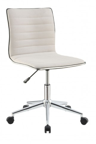 800726 Cream Office Chair