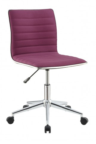 800728 Purple Office Chair
