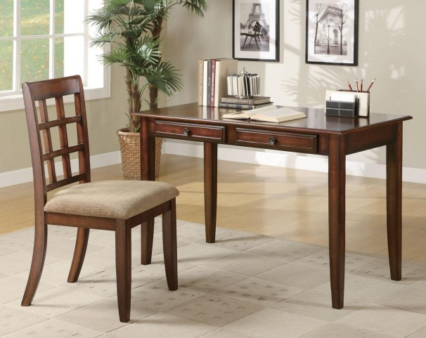 Chestnut Desk and Chair Set 800778