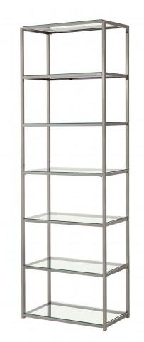 801017 Nickel Bookcase