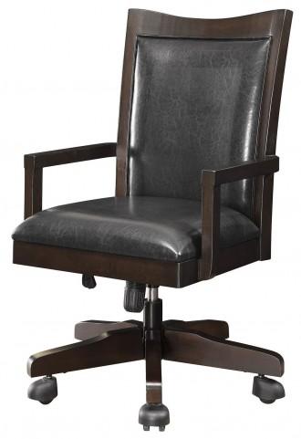 Maclay Dark Brown Office Chair