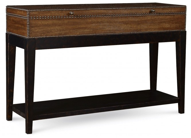 The Foundry Two-Tone Wrenn Console Table