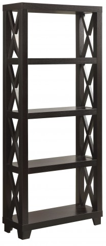 801353 Humfrye Cappuccino Bookcase