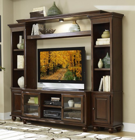 Lenore Rich cherry Entertainment Wall