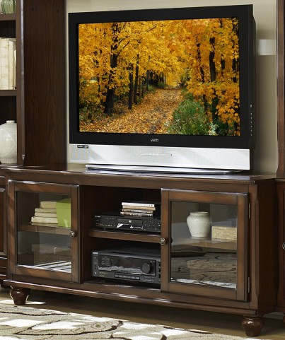 """Lenore Rich cherry 58"""" TV Stand"""