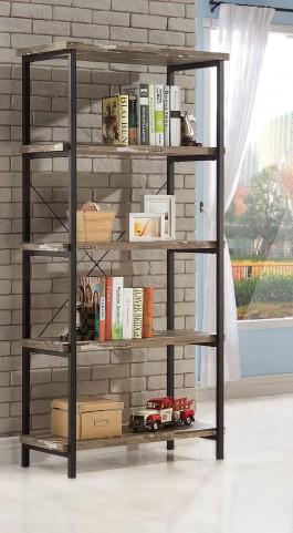 Skelton Salvaged Cabin Bookcase