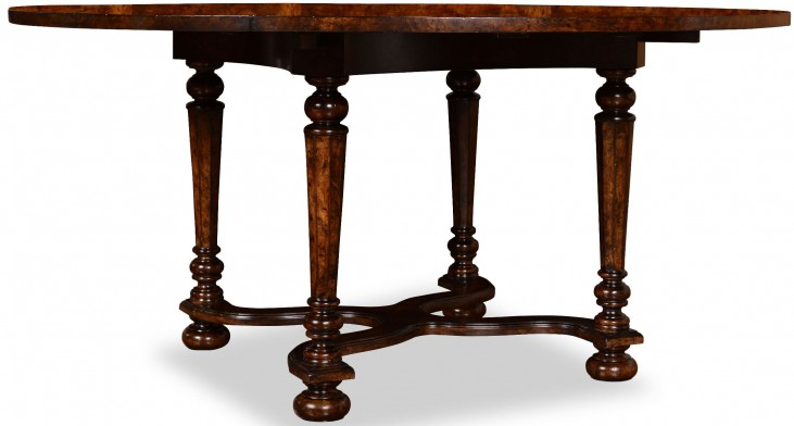The Foundry Cafe Ness Dark Oak Dining Table