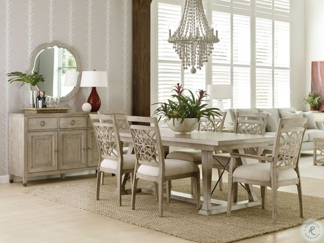 Vista Clayton Oyster Dining Table