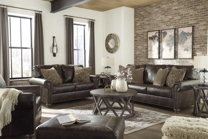 Nicorvo Coffee Living Room Set
