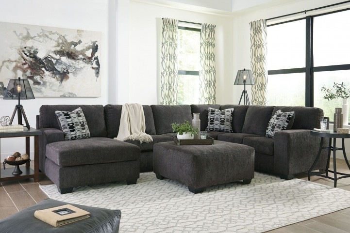 Ballinasloe Gray Laf Sectional From Ashley Coleman Furniture