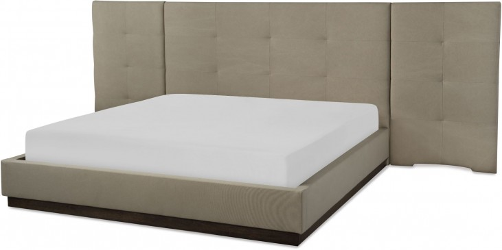 Austin Barton Upholstered Wall Bedroom Set