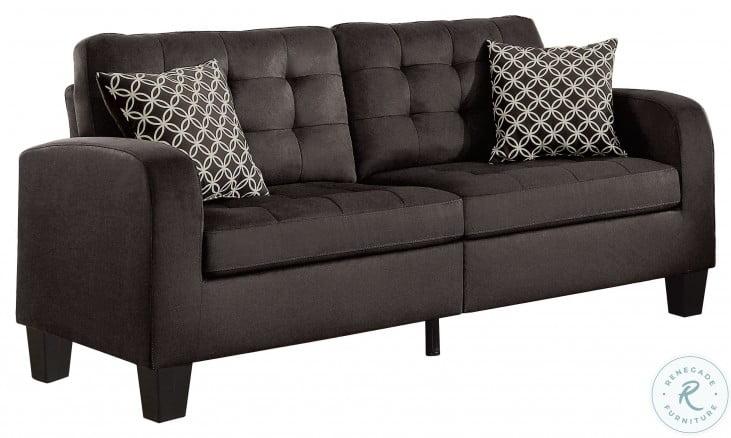 Sinclair Chocolate Sofa