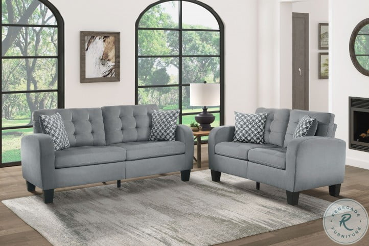 Sinclair Gray Living Room Set