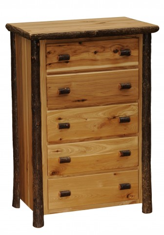 Hickory Traditional Value Five Drawer Chest