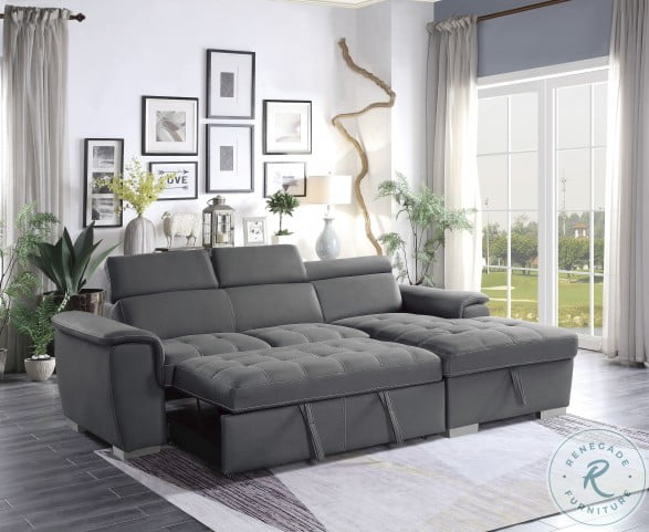 Ferriday Gray 2 Piece RAF Sectional