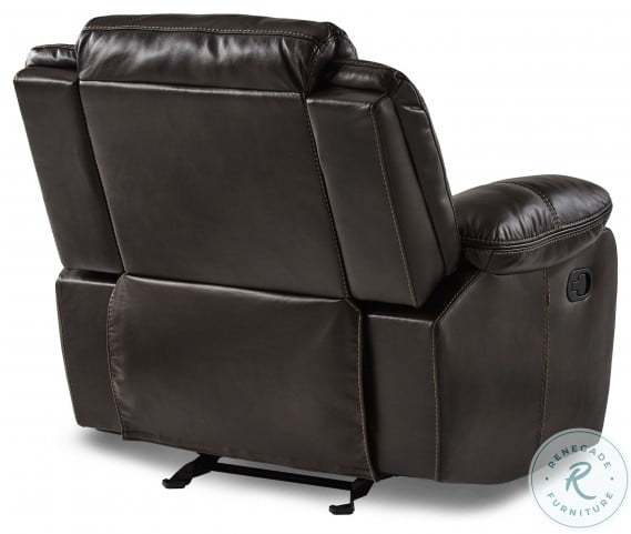 Bastrop Dark Brown Reclining Living Room Set