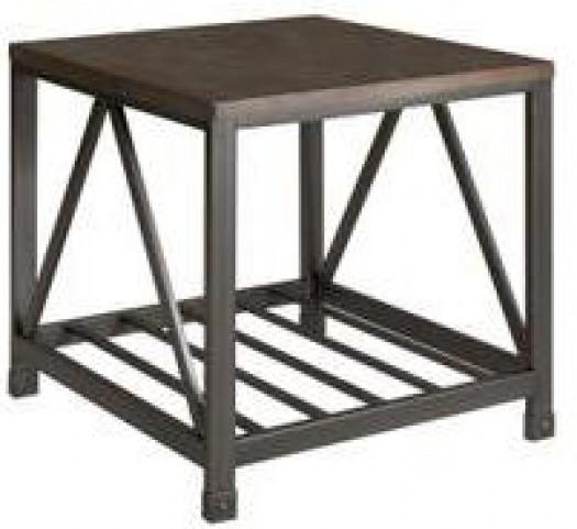 Metal End Table