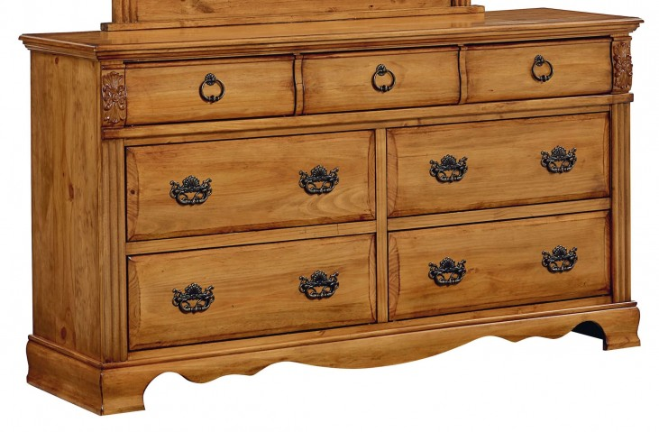 Georgetown Golden Honey Pine Dresser