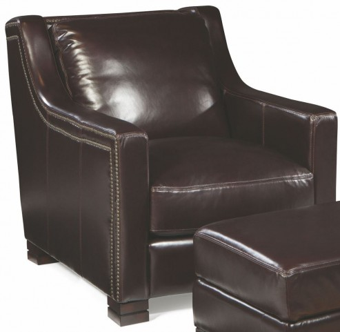 Carrington Madrid Espresso Leather Chair