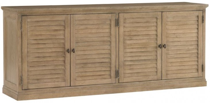 Monterey Sands Palo Alto Louvered Door Stacking Unit
