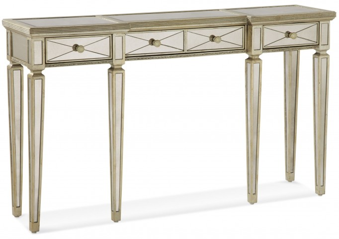 Borghese Mirrored Drawers Console