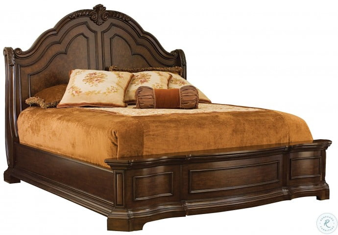 Edington King Panel Bed