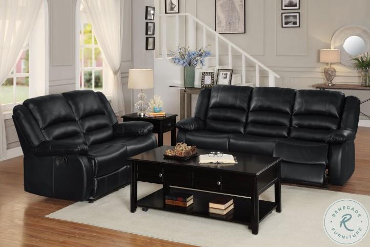 Jarita Black Double Reclining Living Room Set