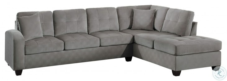 Emilio Taupe 2 Piece Sectional