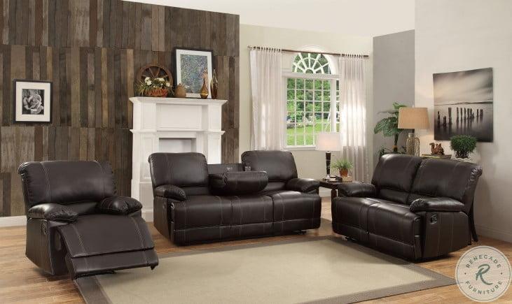Cassville Dark Brown Reclining Chair