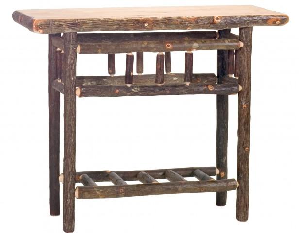 Hickory Open Sofa Table