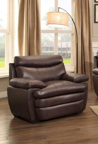 Rozel Dark Brown Chair
