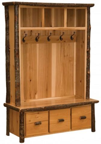 Hickory Traditional Entry Locker Unit