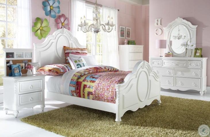 SweetHeart Twin Panel Bed