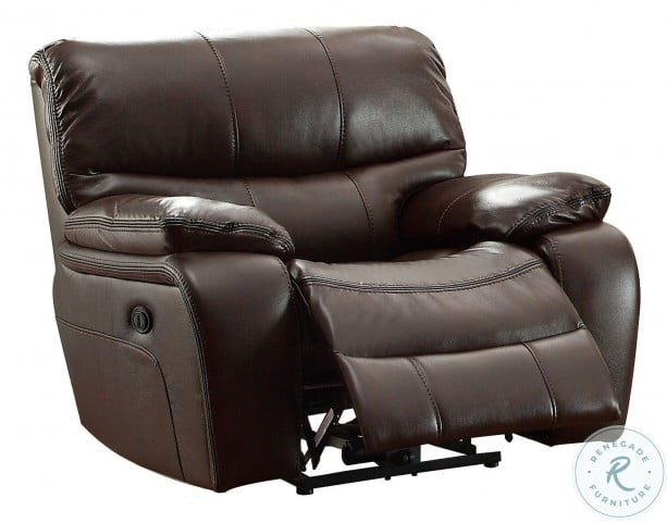 Pecos Brown Power Double Reclining Living Room Set