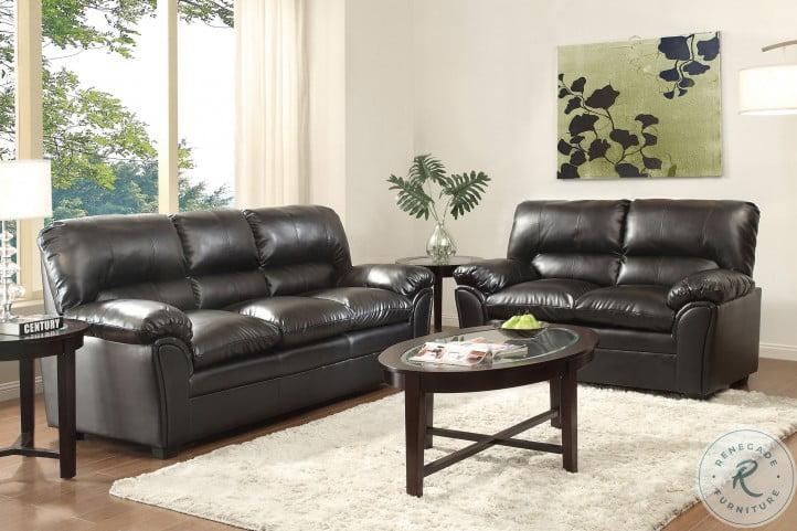 Talon Black Living Room Set